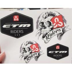 Nálepky CTM RIDERS