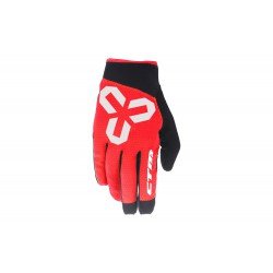 Rukavice CTM VICE, celoprstové, červené - XL