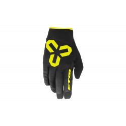 Rukavice CTM VICE, celoprstové, žlté - L