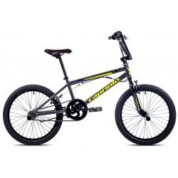 BMX - bicykel 20'' - Totem šedo žltý