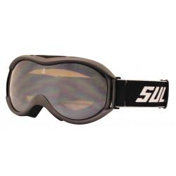 Okuliare zjazdové SULOV FREE, dvojsklo, carbon